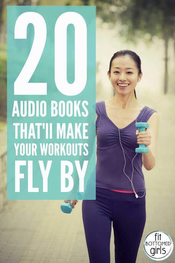 Read and work out at the same time with these audiobooks. They're guaranteed to make your sweat session fly by!
