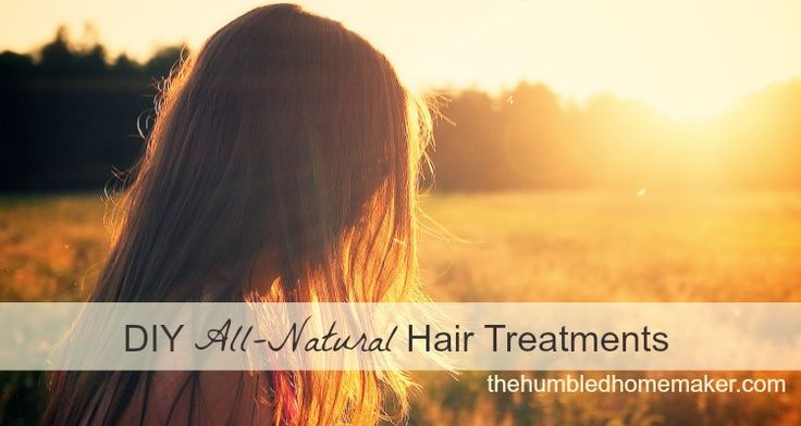 Here are three DIY all-natural hair treatments. Learn how to make a softening honey treatment, a vinegar rinse, and a hot oil hair treatment.