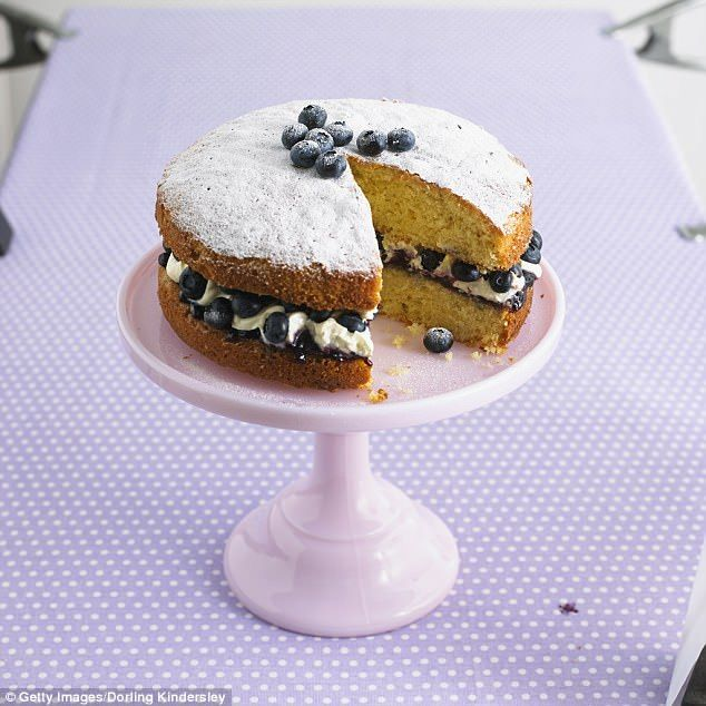 Cake usually crumbles when cut with a knife. Use ordinary cotton thread as a cutter. Work the thread, saw-fashion, through the cake for a clean-cut job