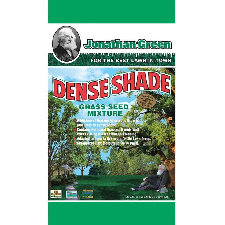 Jonathan Green Shade Grass Seed Mix, Dense #7 (Dense), Gardening