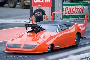 pro mod dragster | ... 24 Scale Resin Dodge Daytona Pro Mod Drag Slot Car or Model Kit | eBay