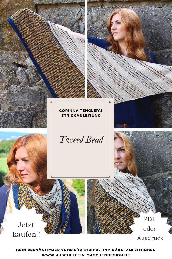 Strickanleitung Tweed Bead von Corinna Tengler