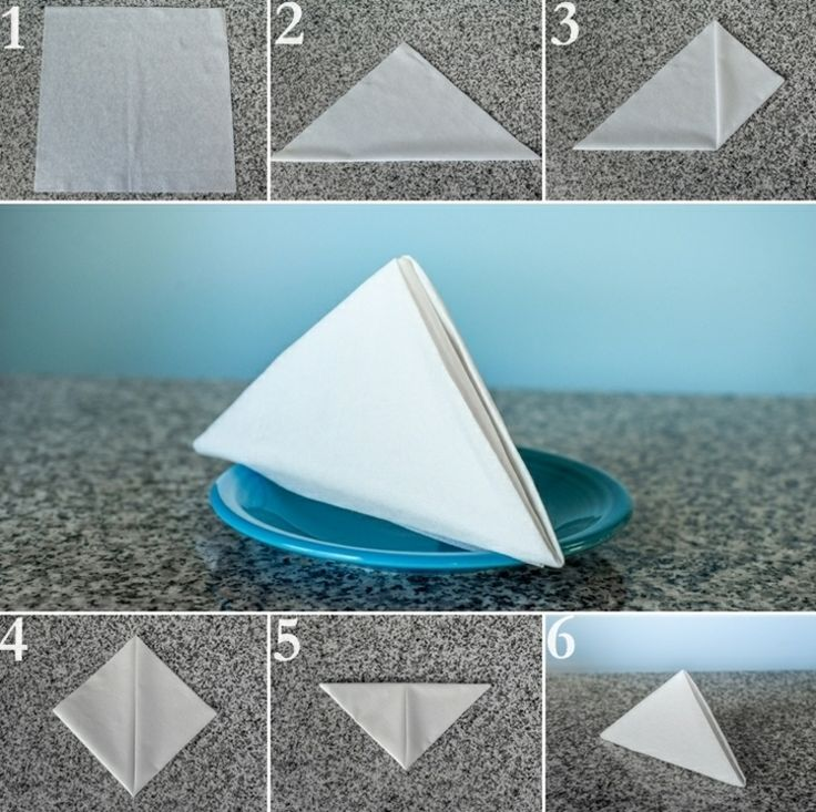 Paper Napkins Fold on Any Occasion - 27 Instructions