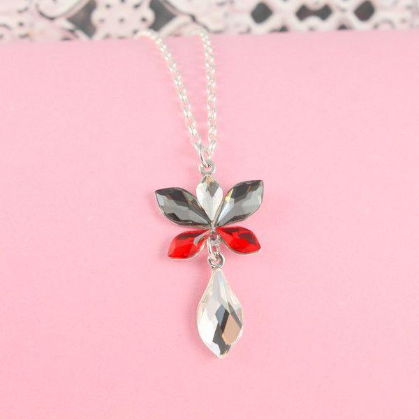 Silberketten - 925er Silberkette mit Blattanhänger - ein Designerstück von greta_mar bei DaWanda