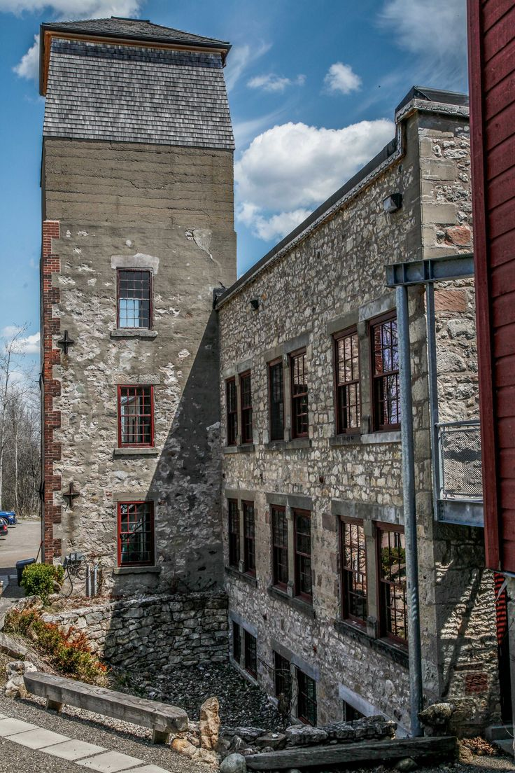Alton Mill, Mill Ruins Ontario, Restored Mills In Ontario, Alton Mill Arts Centre, Thing to see in Alton, Towns to Visit in Ontario,