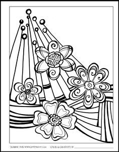 What Is In The Book Zenspirations Coloring Abstract Geometric Designs
