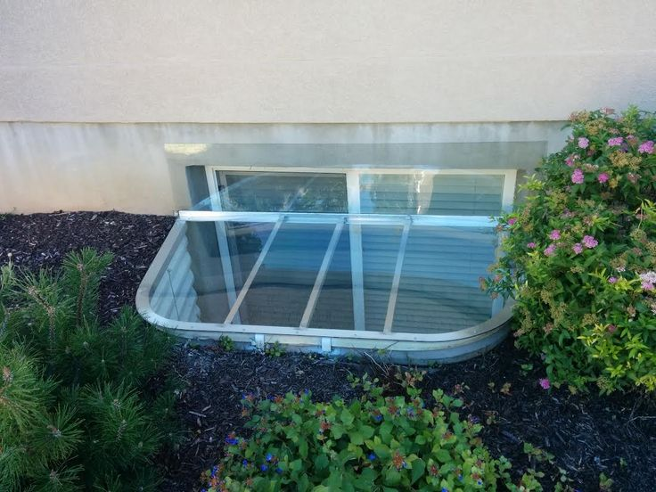 Luxury Basement Window Rain Guards