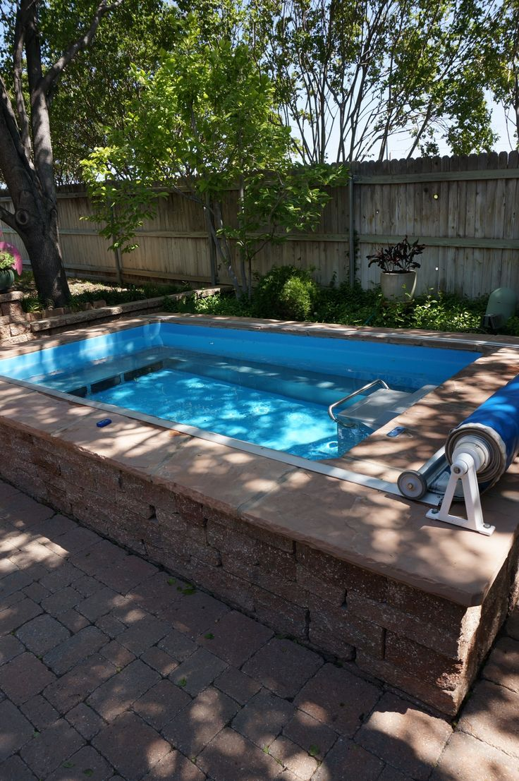 12 best small pool ideas images on pinterest endless pools infinity pools and small pools. Black Bedroom Furniture Sets. Home Design Ideas