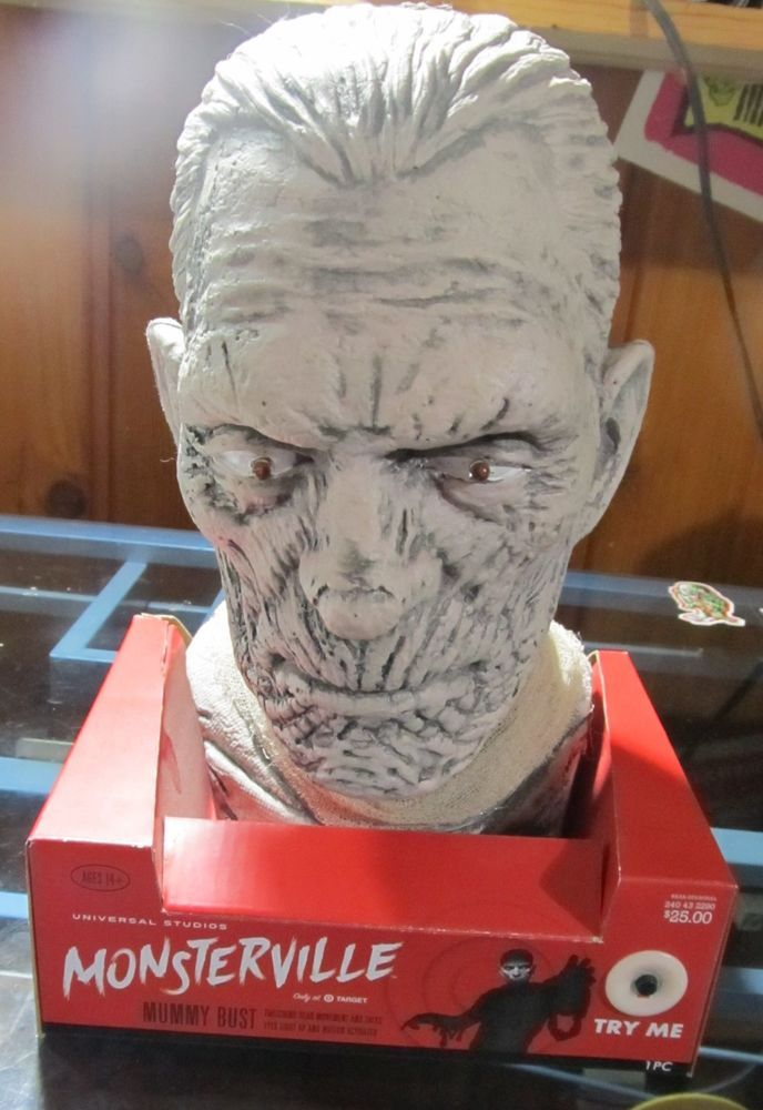Details about Universal Monsters Monsterville Target Exc THE MUMMY