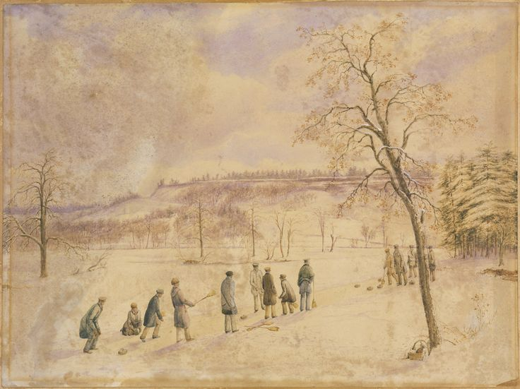 Curling in High Park, Toronto / Match de curling à High Park, Toronto (Ontario) | by BiblioArchives / LibraryArchives