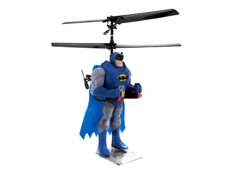 Who doesn't want a Batman action figure helicopter?!