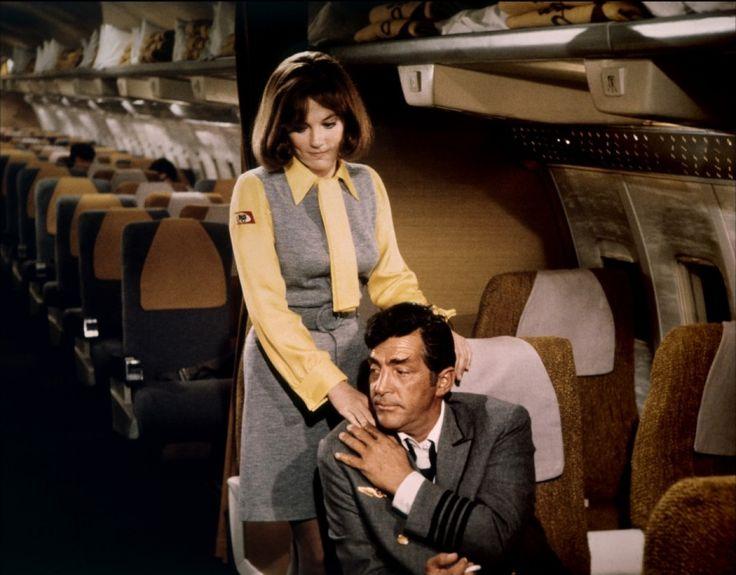 Airport (1970) - Jacqueline Bisset & Dean Martin