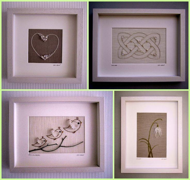 """Милые сердцу штучки: """"Авторская вышивка от Mary Whelan"""" (Дублин, Ирландия)"""