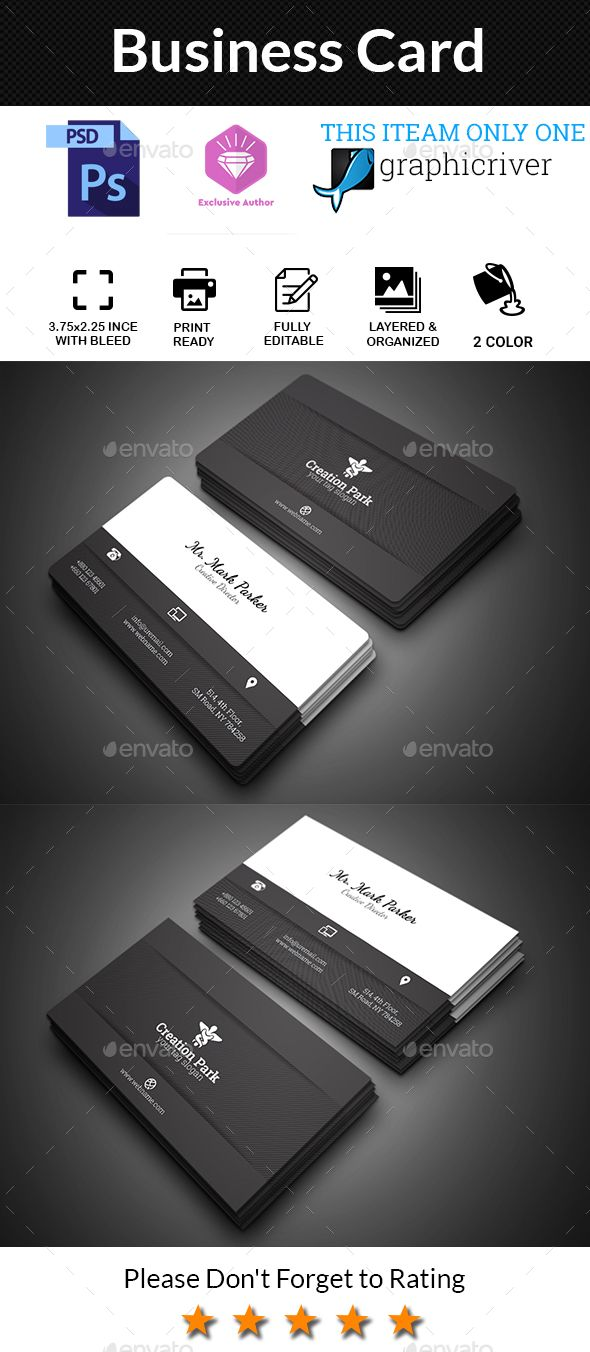 259 best # Business Card Templates Designs images on Pinterest ...