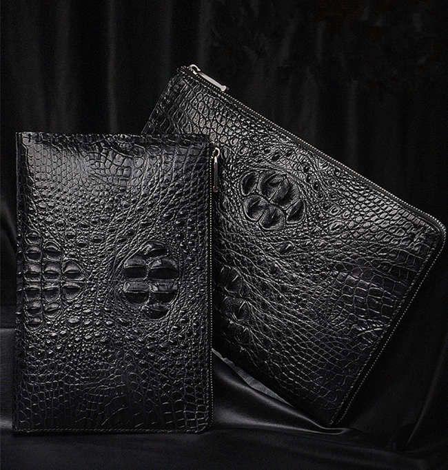 BRUCEGAO's Crocodile Leather Wallet