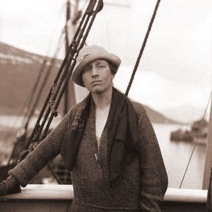 Louise Arner Boyd. Arctic Explorer. Leader and Organizer of multidisciplinary scientific expeditions conducting a comrehensive survey of the coast of East Greenland.