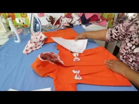 COMO FAZER ROUPINHAS DE BEBE, APROVEITANDO RETALHOS DE MICROSOFT - YouTube
