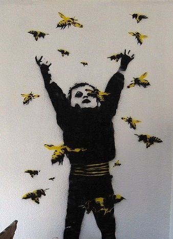 Collection of awesome urban art, graffiti & street art from the World's best urban artists | See street art for sale & more on Mr Pilgrim online