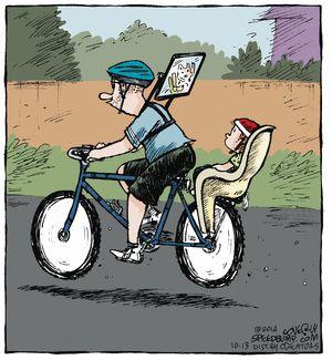 Speed Bump Comic Strip, October 13, 2014 on GoComics.com