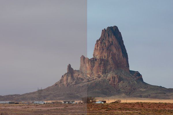 Photoshop Color Lab Tutorial  |  Digital Photography School  |  Get more color out of drab photos (left vs. right side)