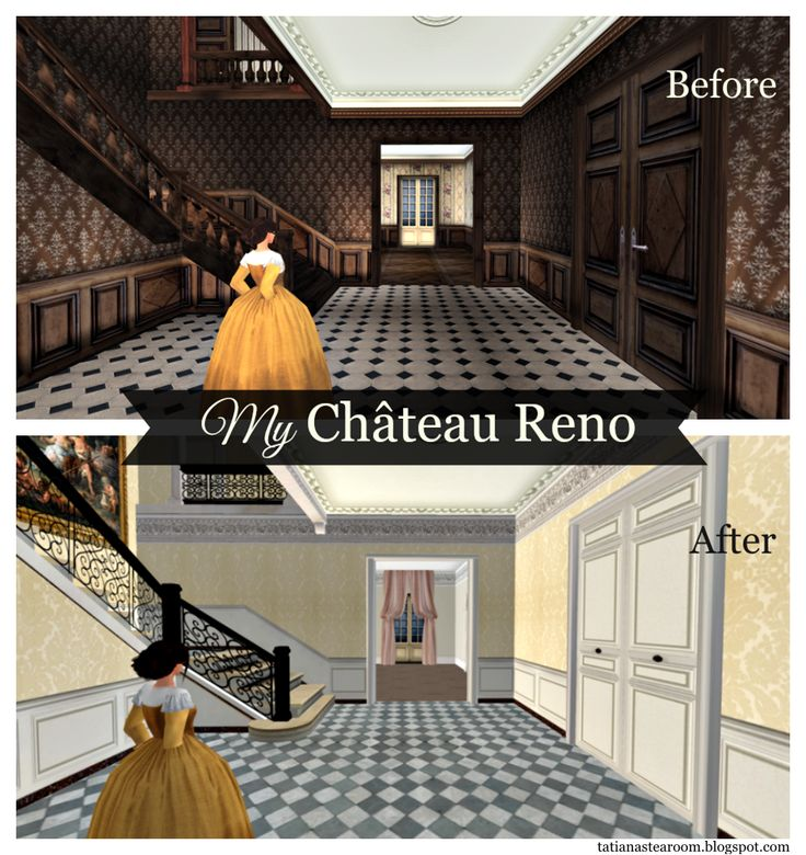 [Blog Post] My Chateau Reno | You don't have to contend with the dust & dirt but a virtual house renovation can still be challenging! | #SecondLife