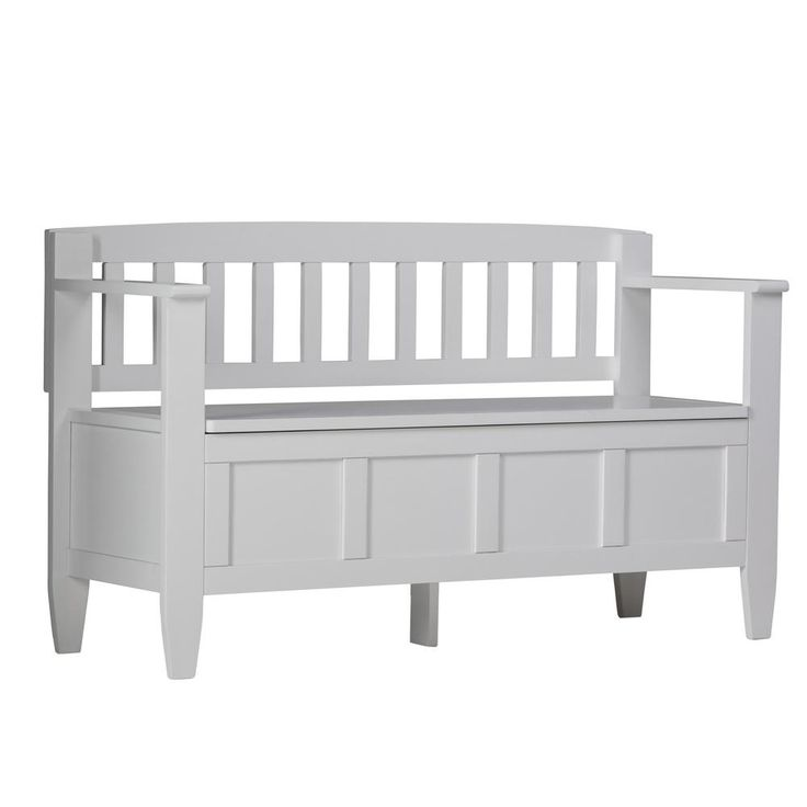 17 Best Ideas About White Storage Bench On Pinterest Storage Benches Hallway Bench And