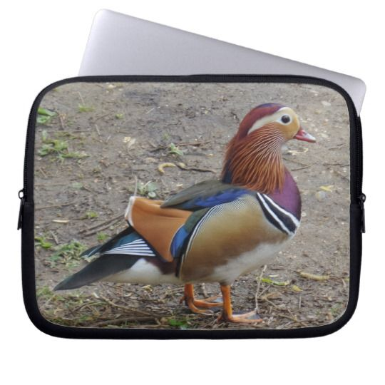 #zazzle #Colorful #Bird #Neoprene #Laptop #Sleeve #10 inch #office #home #travel #gift #giftidea