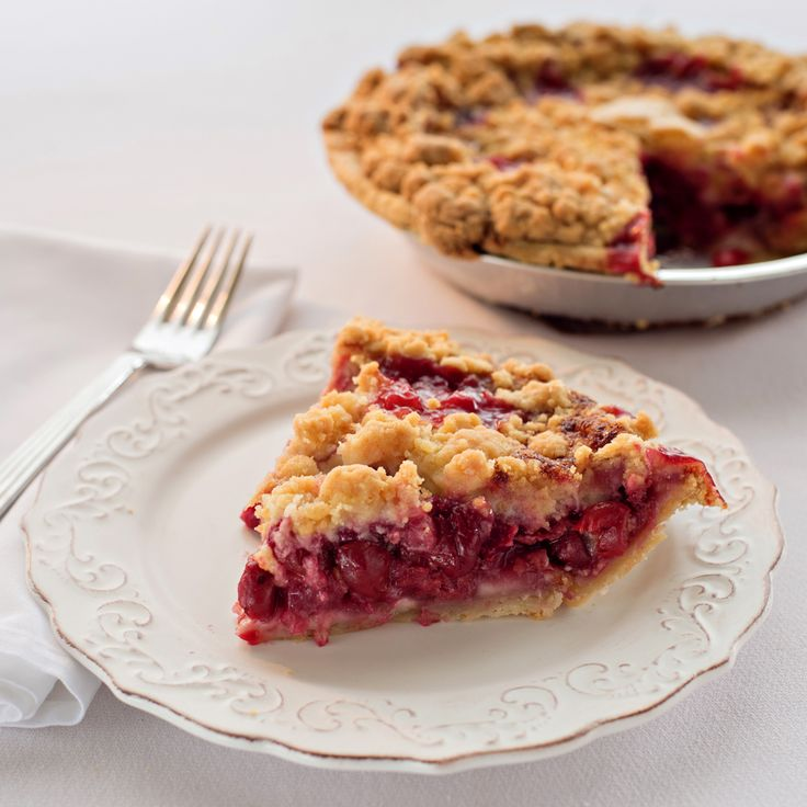 This is hands down, the BEST cherry pie I've ever tasted! The Grand Traverse Cherry Crumb Pie is perfect for any occasion. Add USA in crust letters, and you have a festive holiday pie!