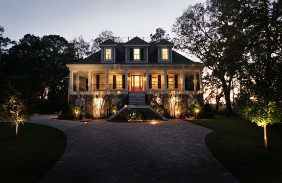 Eplans Low Country House Plan - Distinctive Regional Flair - 4044 Square Feet and 5 Bedrooms(s) from Eplans - House Plan Code HWEPL08341