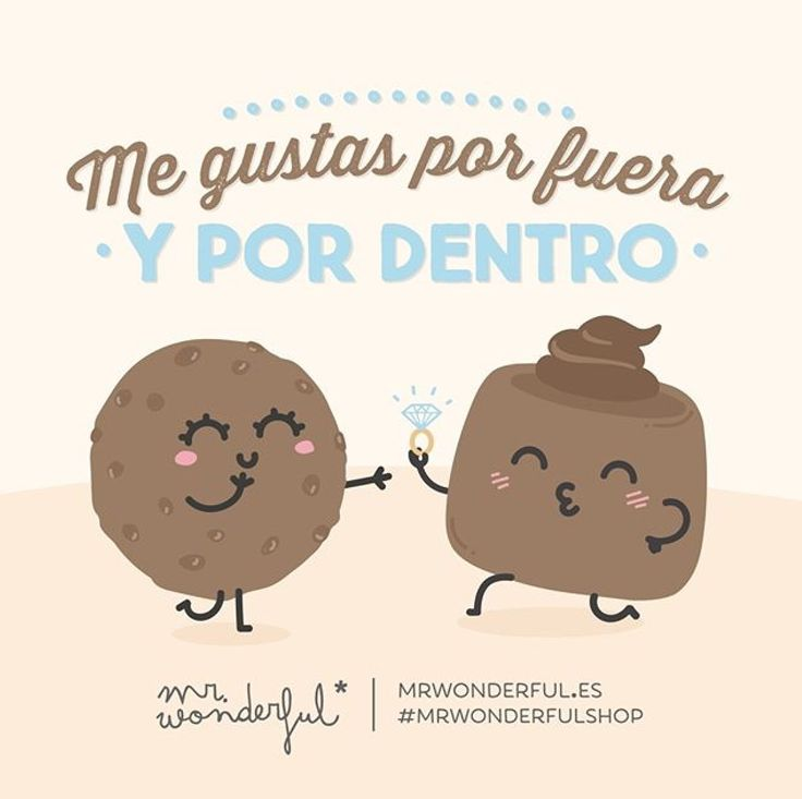 Una frase de mr wonderful muy original