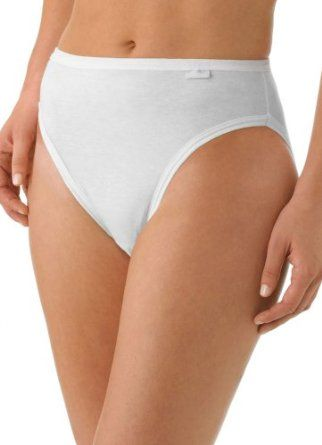 Jockey Plus Size Elance French Cut- 3 Pack, pearl, 8 Jockey. $19.50