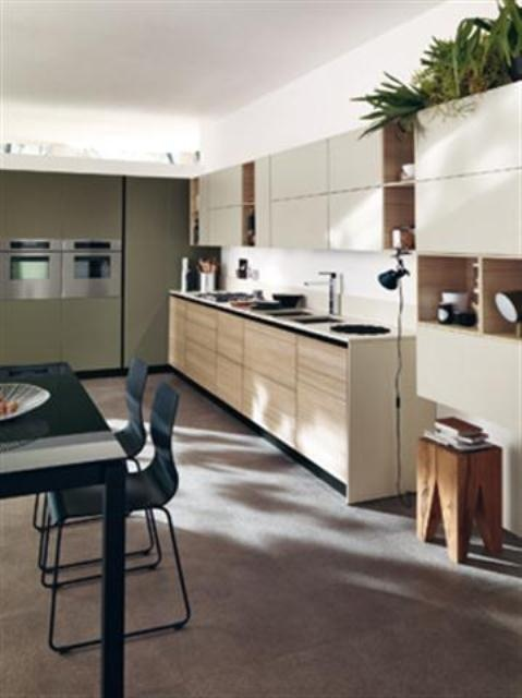 Delightful Cool Ultra Modern Kitchen By Scavolini Photo Gallery