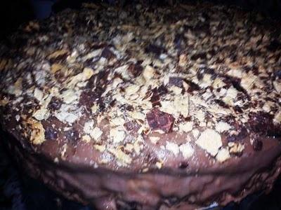 Torta de Sorvete com Bis