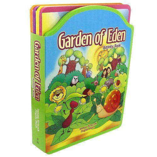 Garden Of Eden Landscape: Garden Of Eden Foam Activity Book Will Provide Little Ones