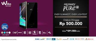 Promo smartphone Wiko Highway Pure 4G di Indonesia