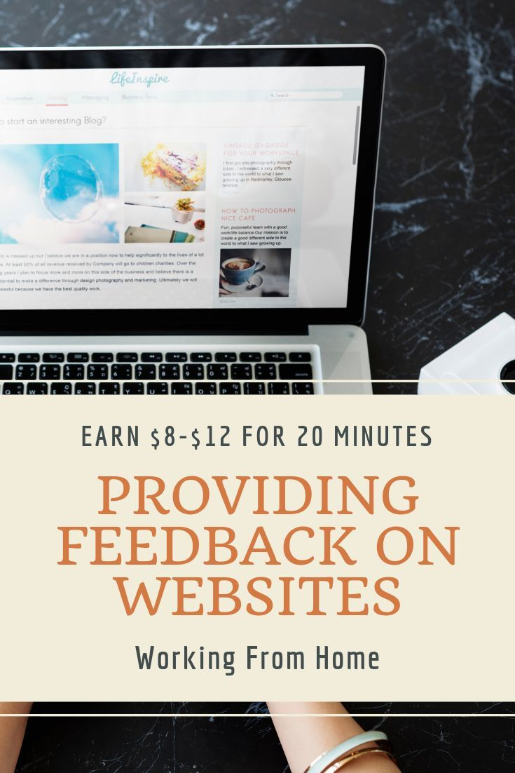 Non Phone Work From Home Jobs 2020.Get Paid For Website Testing And Earn Money In Your Free