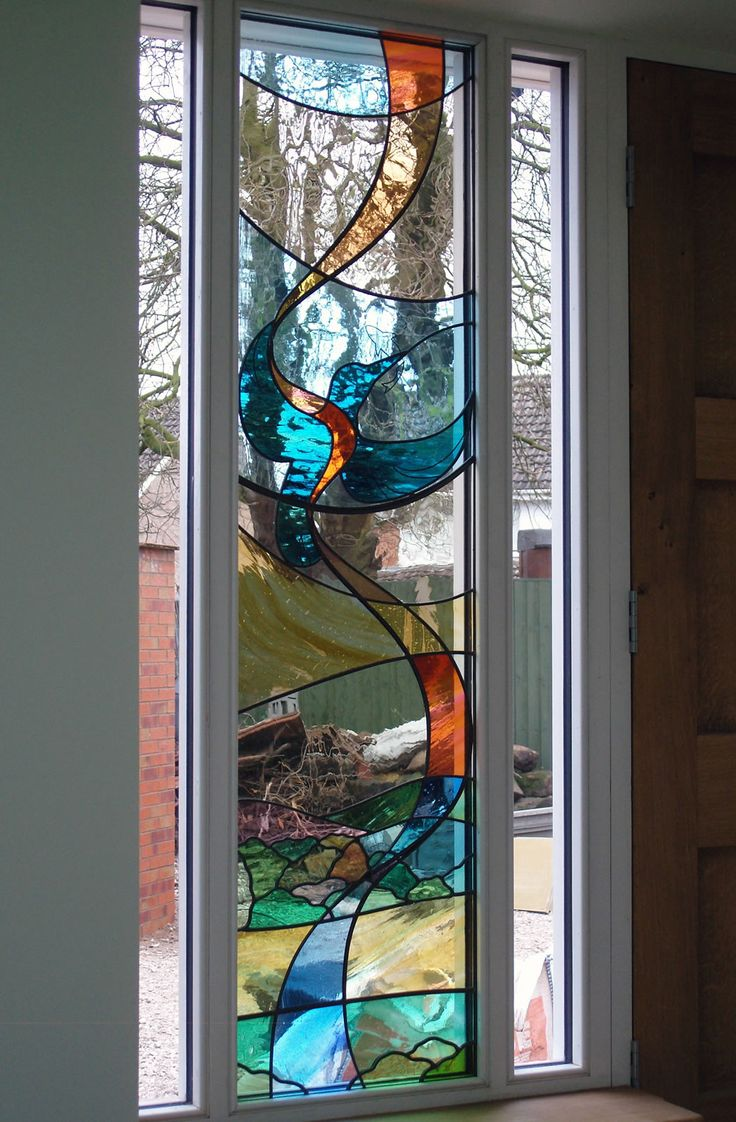 Beach theme decoration stained glass window panels arts crafts - Stained Glass Portfolio Examples Of Work By Derbyshire Based Artist Dave Griffin