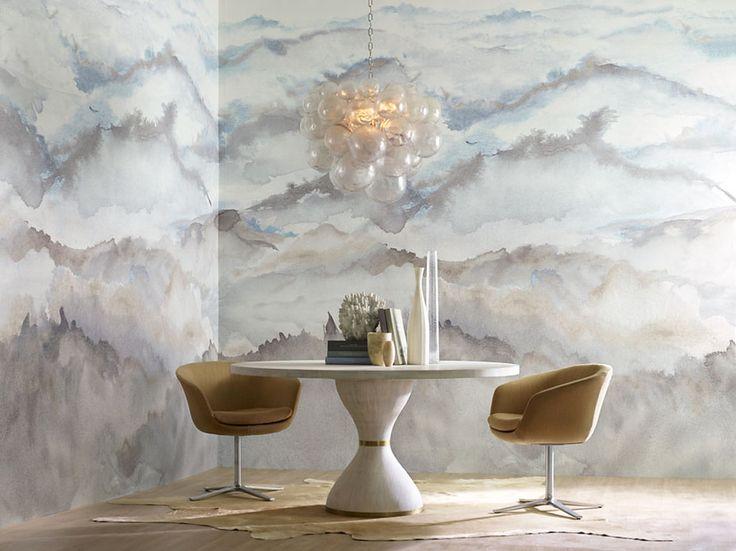 173 Best Wallpaper Images On Pinterest Fabric Wallpaper