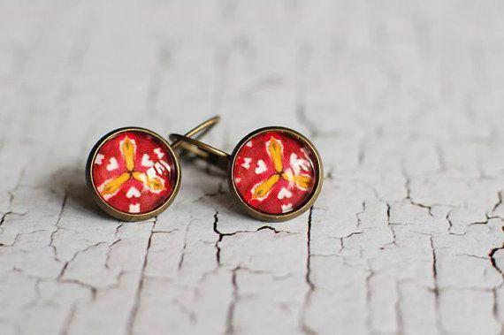 Art Dangle Earrings  Geometric Earrings  Art Jewelry  Modern Earrings  Art Earrings  Geometric Design  handmade by Evartstudio