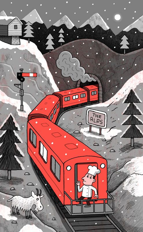 illustration by Allan Sanders