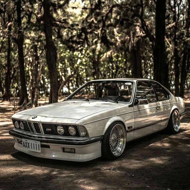 Cool Classic White BMW #BMWclassiccars