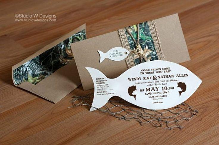 Lake Themed Wedding Invitations: 25+ Best Ideas About Fishing Wedding Cakes On Pinterest