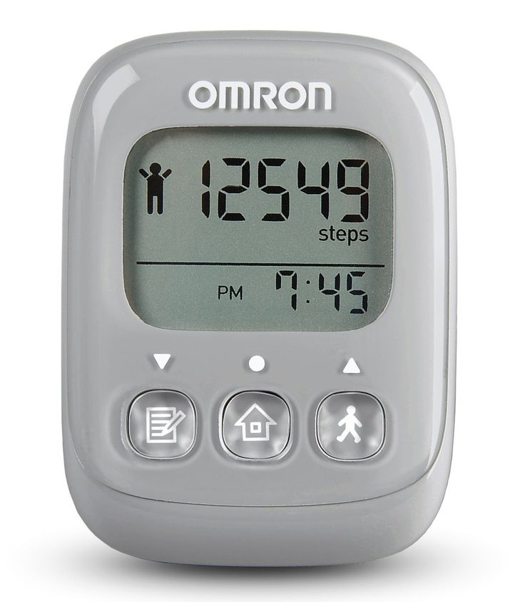 Omron Alvita Ultimate Pedometer, Gray: Mother's Day Gift | Fit Mom ...