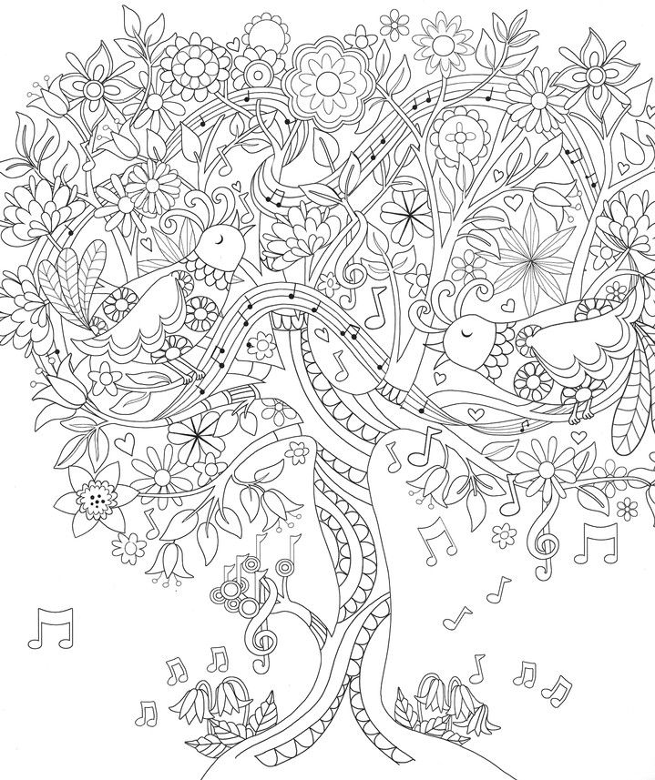 amazing grace coloring book - Birch Tree Branches Coloring Pages