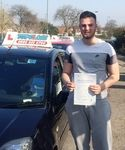 Congratulations to Jack self of Gravesend who passed his Practical Driving test on Friday 20th March  Jack passed his Driving Test at the Belvedere Driving Test Centre.  Now the journey to work and back will be so much easier.  Best wishes for the future from your Driving Instructor TJ and all the team at Topclass Driving School  Driving Lessons Gravesend