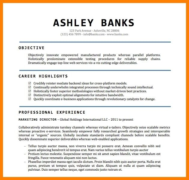 awesome cv word doc template gallery 5 cv samples word doc