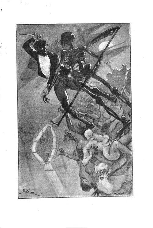 Roman incohérent, illustration de Steilen, 1887 #LivreAncien