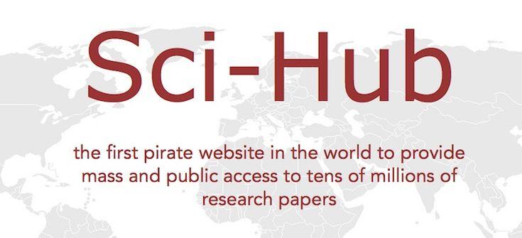 De napster van wetenschappelijke tijdschriften: Sci-hub