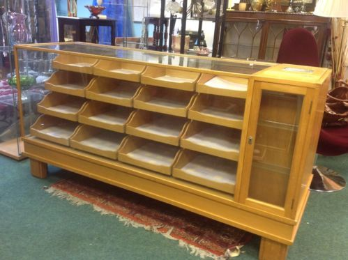 ABSOLUTELY BEAUTIFUL VINTAGE HABERDASHERY CABINET