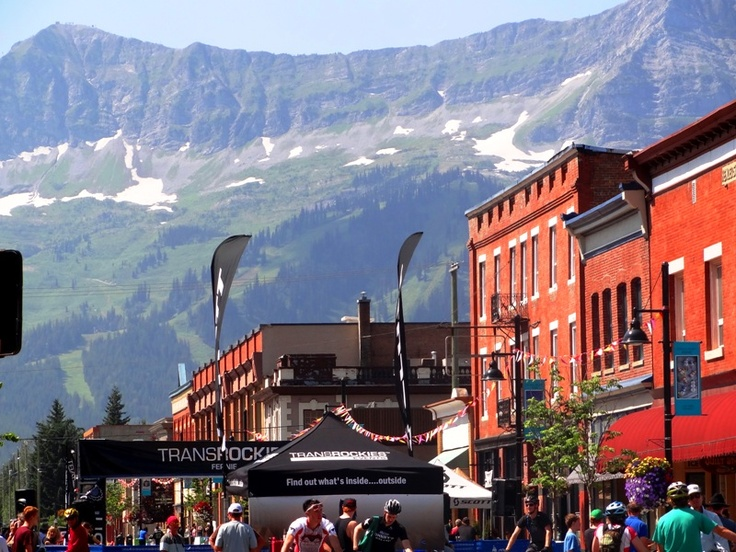 Fernie is a great outdoors adventure town in the canadian rockies, Kootenays, BC. Enjoy great mountain biking, hiking, and fly fishing.The Transrockies mountain bike event starts in Fernie,BC and ends in Canmore, AB.